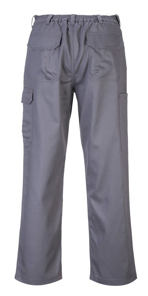 Portwest BZ31 FR Cargo Pants, Gray, back