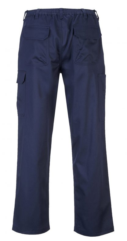 Portwest BZ31 FR Cargo Pants, Navy, back