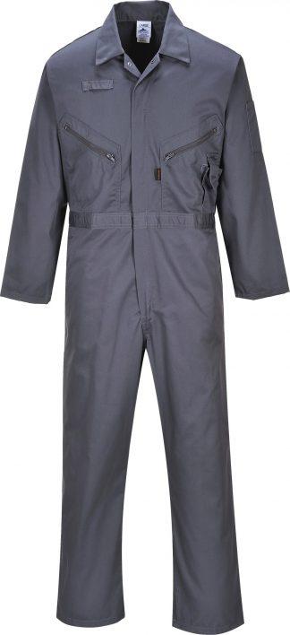 Portwest C813 Liverpool Zipper Coverall, Gray