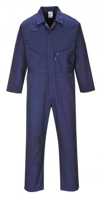 Portwest C813 Liverpool Zipper Coverall, Navy