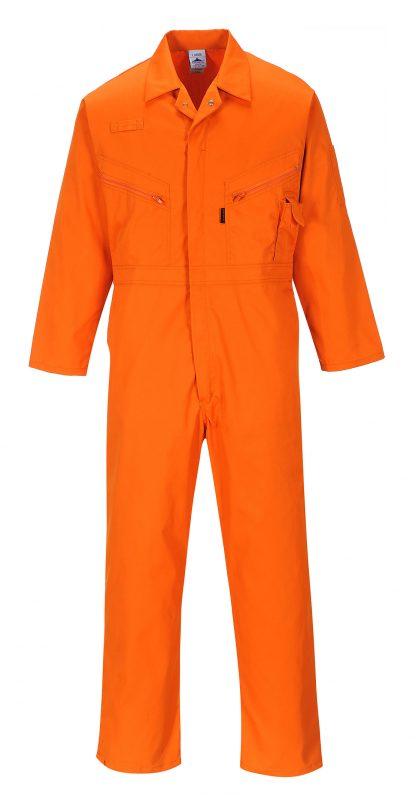 Portwest C813 Liverpool Zipper Coverall, Orange