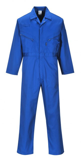 Portwest C813 Liverpool Zipper Coverall, Royal Blue