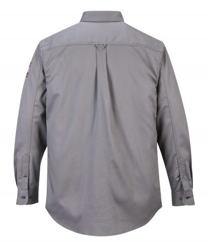 BIZFLAME 88/12 FR SHIRT - FR89 Gray Back