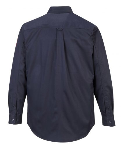 BIZFLAME 88/12 FR SHIRT - FR89 Navy Back