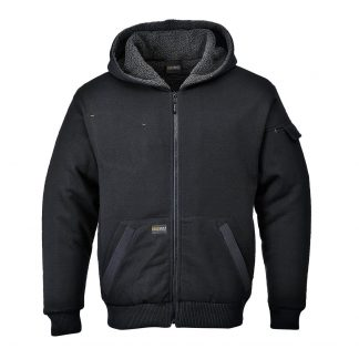 Portwest LK32 Pewter Jacket, Black Main