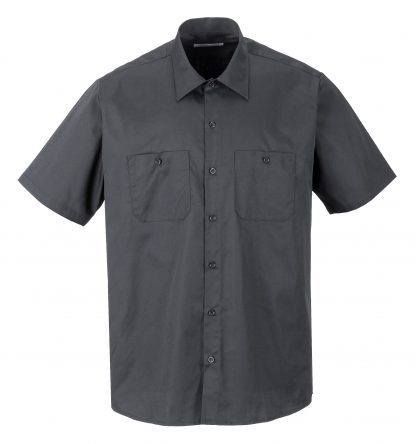Portwest S124 Industrial Work Polo, Gray