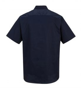 Portwest S124 Industrial Work Polo, Navy Rear