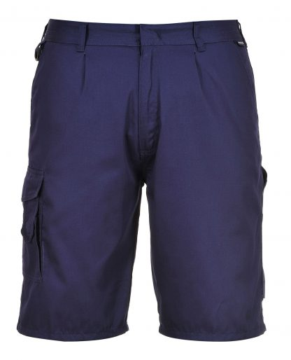 Portwest S790 Cargo Shorts w/ D-ring, blue, front
