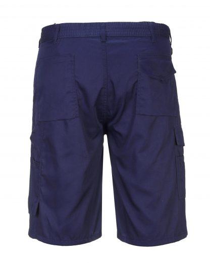 Portwest S790 Cargo Shorts w/ D-ring, blue, rear