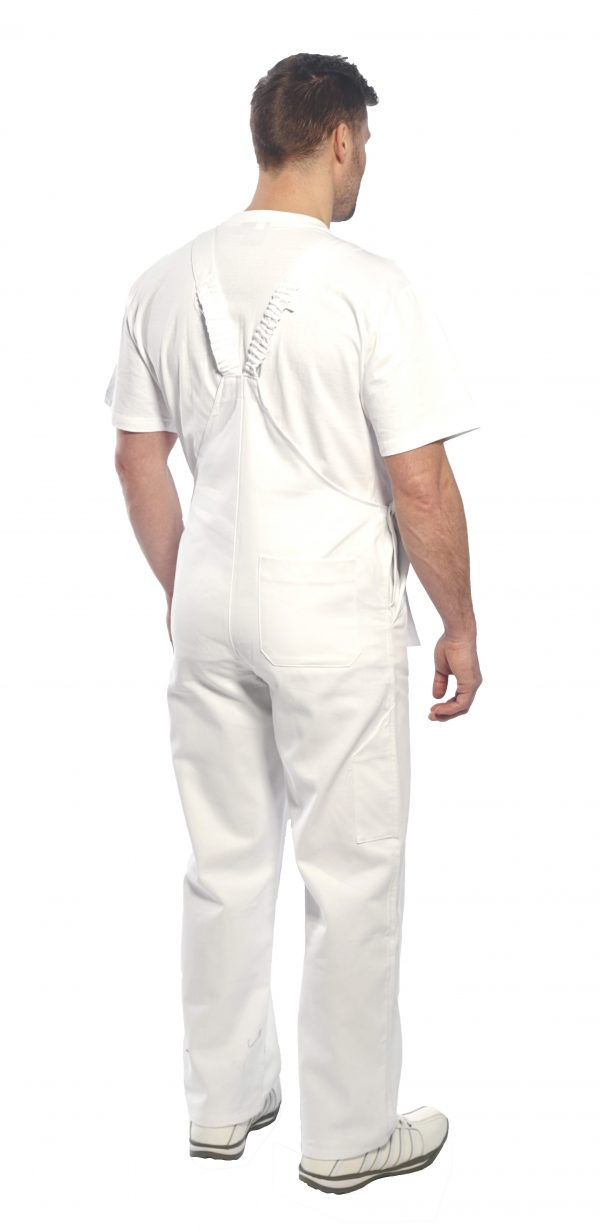 S810 Bolton Painters Overalls, onbody rear