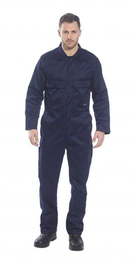 Portwest S999 Euro Work Polycotton Coverall, onbody 1