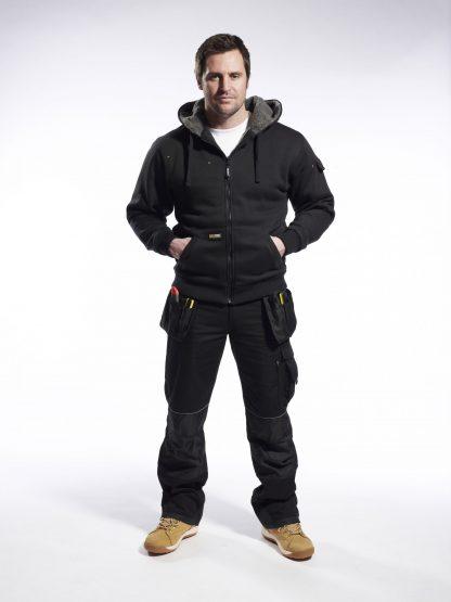 UKS32 Insulated Work Jacket, onbody 1