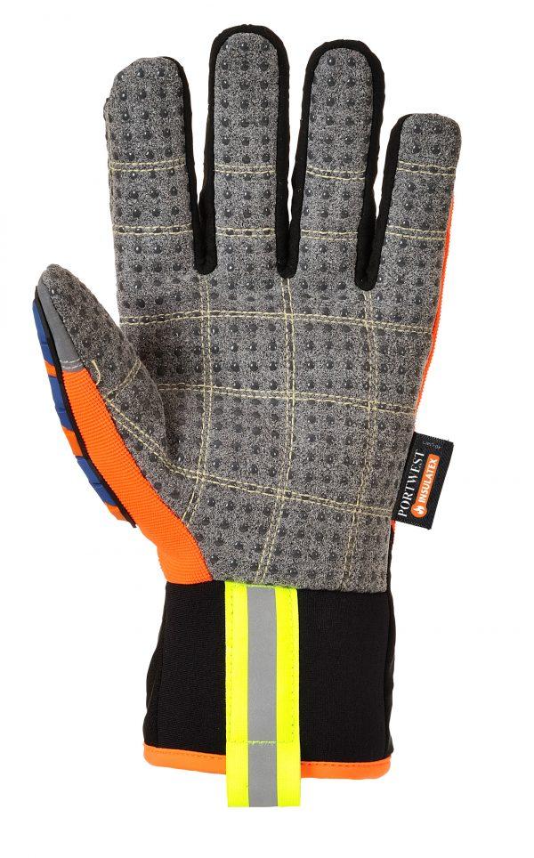portweast A726 anti-impact tpr work gloves, Palm