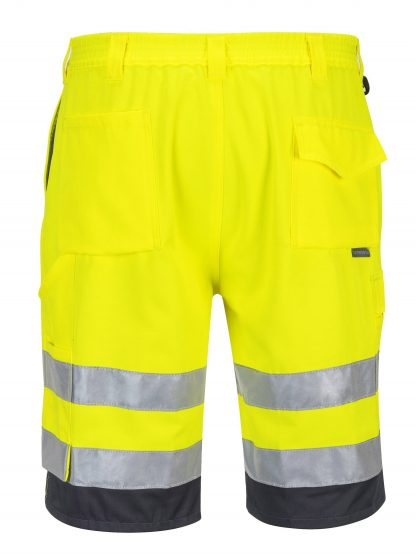 Portwest ANSI Class E High Visibility Shorts, Yellow