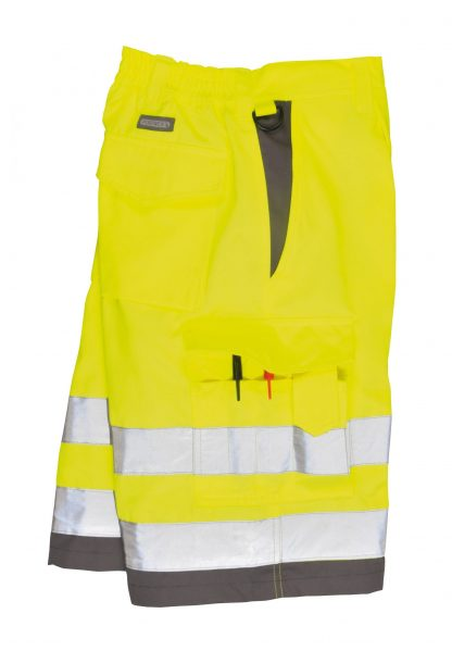 Portwest ANSI Class E High Visibility Shorts, Yellow 3