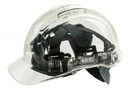 Portwest PV50 PEAKVIEW Transparent Hard Hat, Clear