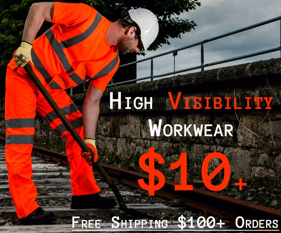 iwantworkwear high visiblity safety clothing start at USD $10