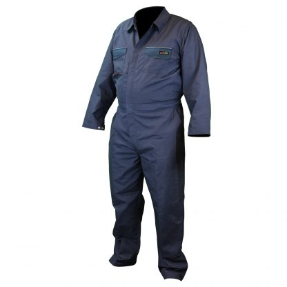 Radians FRCA-001 VOLCORE™ COTTON/NYLON FR COVERALL, navy, front