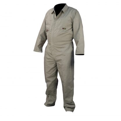 FRCA-002 VOLCORE™ COTTON FR COVERALL, Khaki Front
