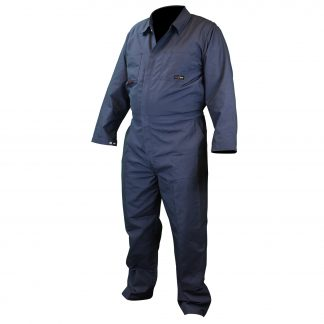 FRCA-002 VOLCORE™ COTTON FR COVERALL, Navy Front