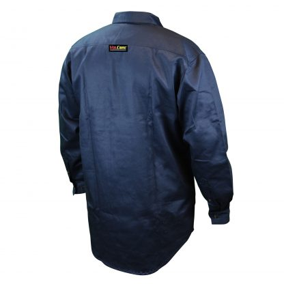 FRS-001 VOLCORE™ LONG SLEEVE BUTTON DOWN FR SHIRT, Back Blue