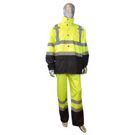 Radians RW30 High Visibility Class 3 Rain Jacket, multi purpose 2