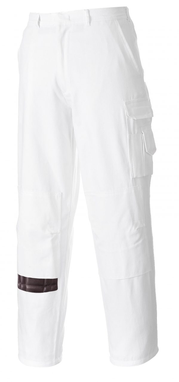 Portwest S817 Painters Pants, 100% Cotton Side