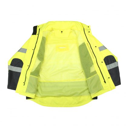 Safety jacket Radians SJ410B 3 Three-in-One Weatherproof Parka RADIANS SJ410B 3 THREE-IN-ONE WEATHERPROOF PARKA interior without fleece