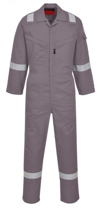Portwest UAF73 Araflame NFPA 2112 FR Coverall, Gray