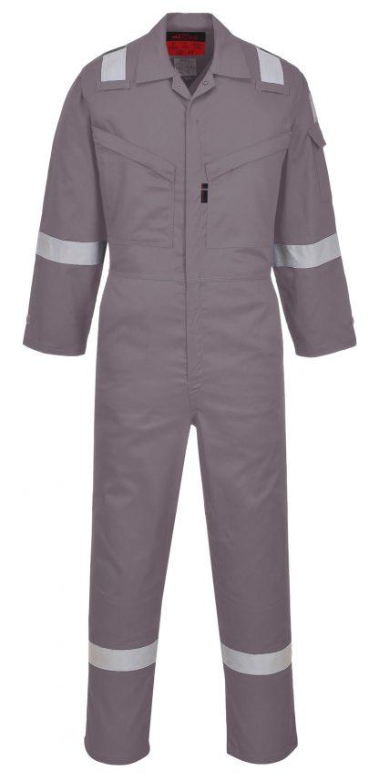 Portwest UAF73 Araflame NFPA 2112 FR Coverall, Gray