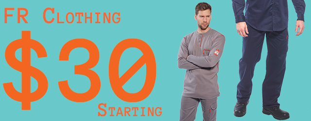 Fire resistant Clothing Starting $30USD