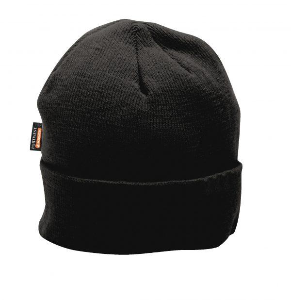Portwest B013 Black Insulated Winter Cap