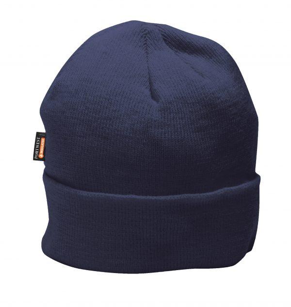 Portwest B013 Navy Insulated Winter Cap