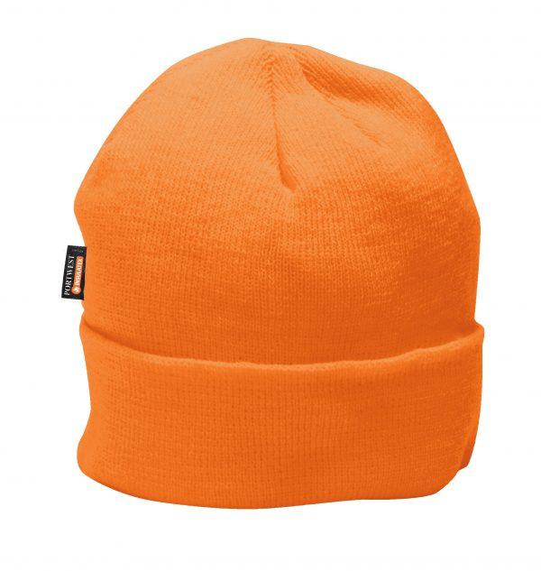 Portwest B013 Orange Insulated Winter Cap