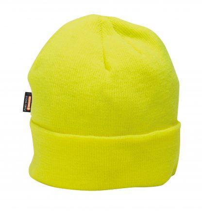 Portwest B013 Yellow Insulated Winter Cap