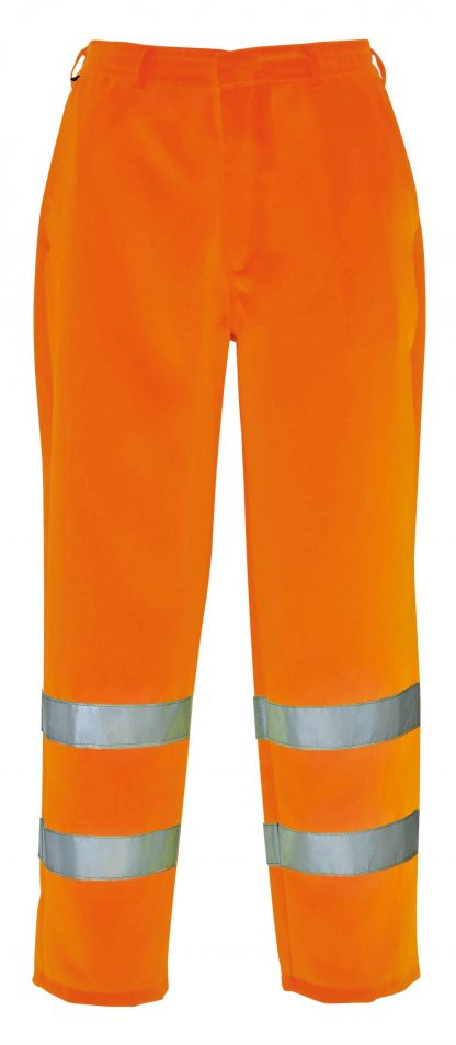 High Visibility Polycotton Pants, Orange