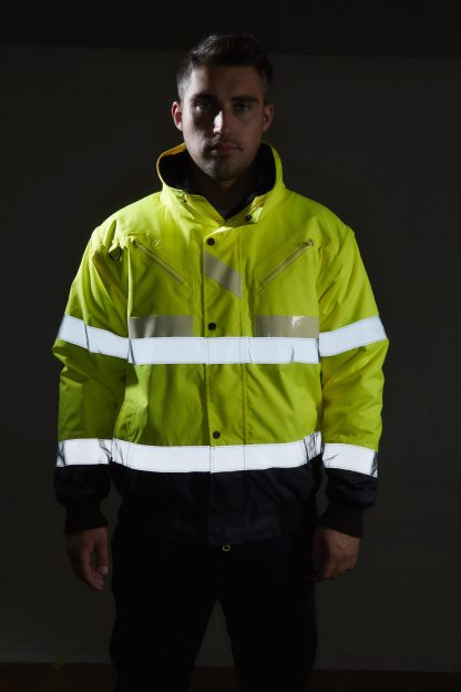Portwest G465 Glow-in-the-dark High Visibility 3-in-1 Bomber Jacket