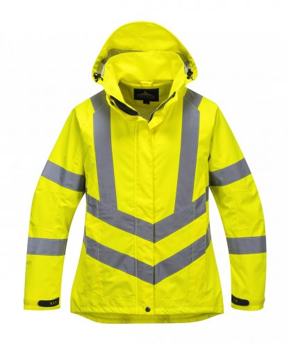 Portwest Lw70 Women's High Visibility Safety Jacket, Yellow