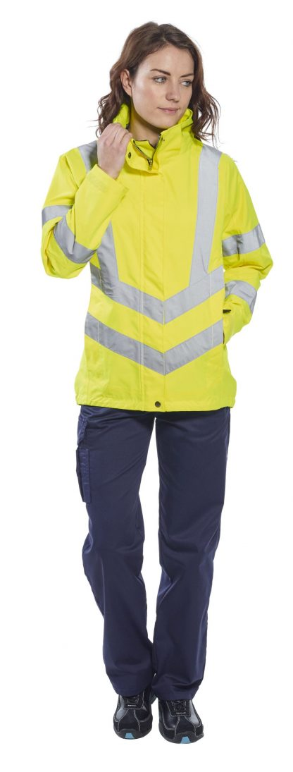 Portwest Lw70 Women's High Visibility Safety Jacket, Yellow 2