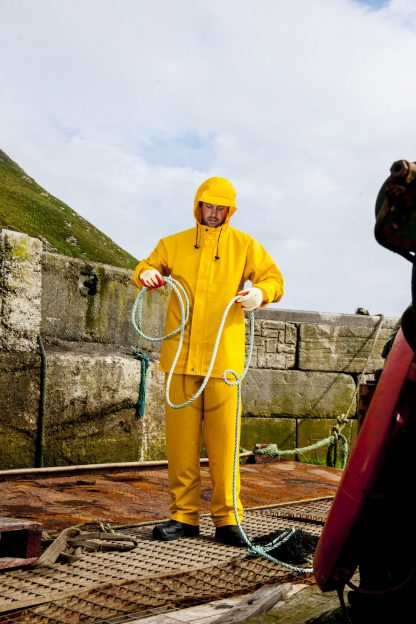 Portwest S250 Sealtex Ocean Jacket, Full body in action