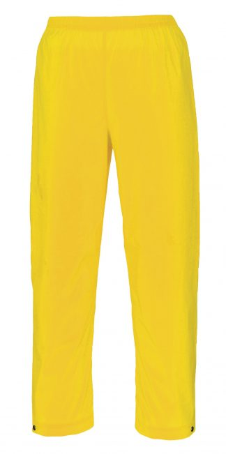 Portwest S251 Yellow Soft PVC Rain Pants