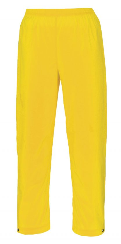 Portwest S251 Yellow Soft PVC Rain Pants