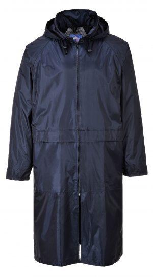 Portwest S438 Classic Navy Rain Coat, Front