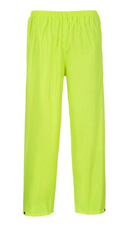 Portwest S441 Classic Rain Pants, yellow