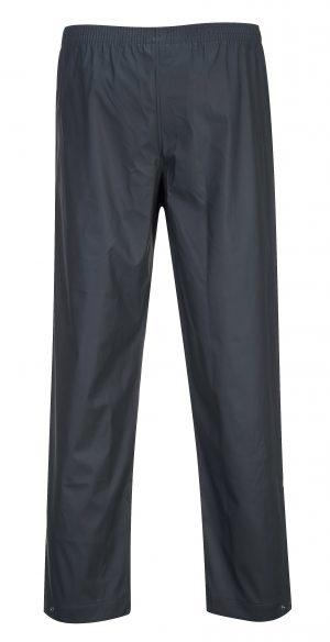 Portwest S451 Classic Navy Waterproof Rain Pants, Rear