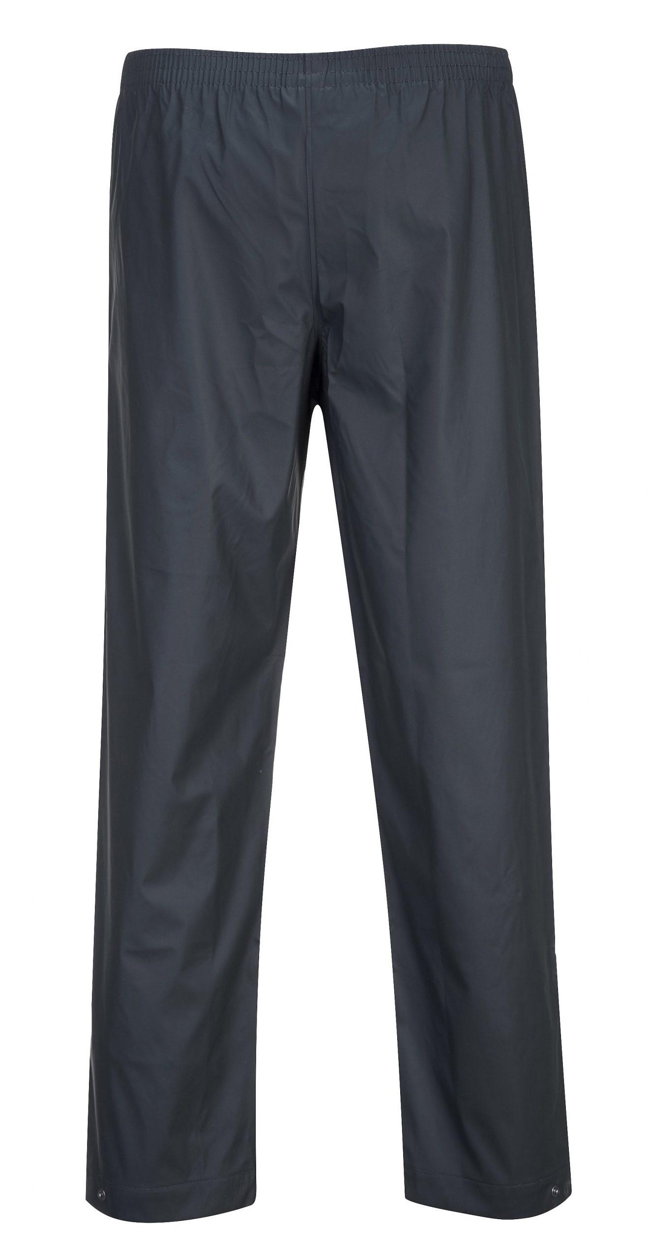 Portwest Sealtex Classic Trousers Waterproof Rain Elastic Waist Work Wear S451