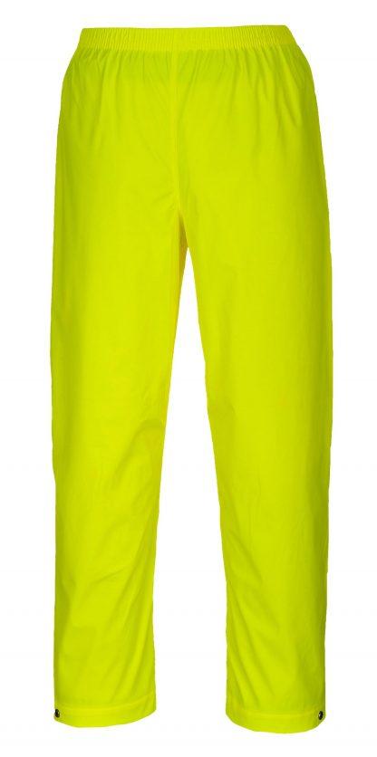 Portwest S451 Classic Yellow Waterproof Rain Pants
