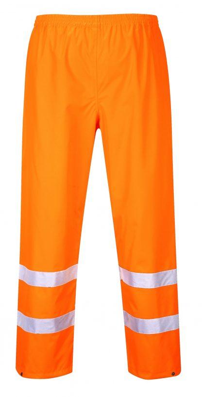 Portwest S480 High Visibility Rain Pants, Orange