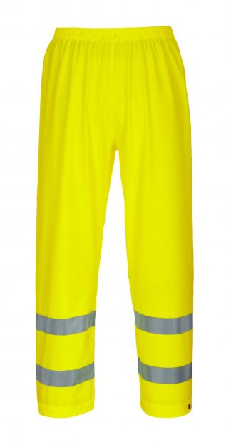 Portwest S493 High Visibility Sealtex Ultra Reflective Pants, Yellow