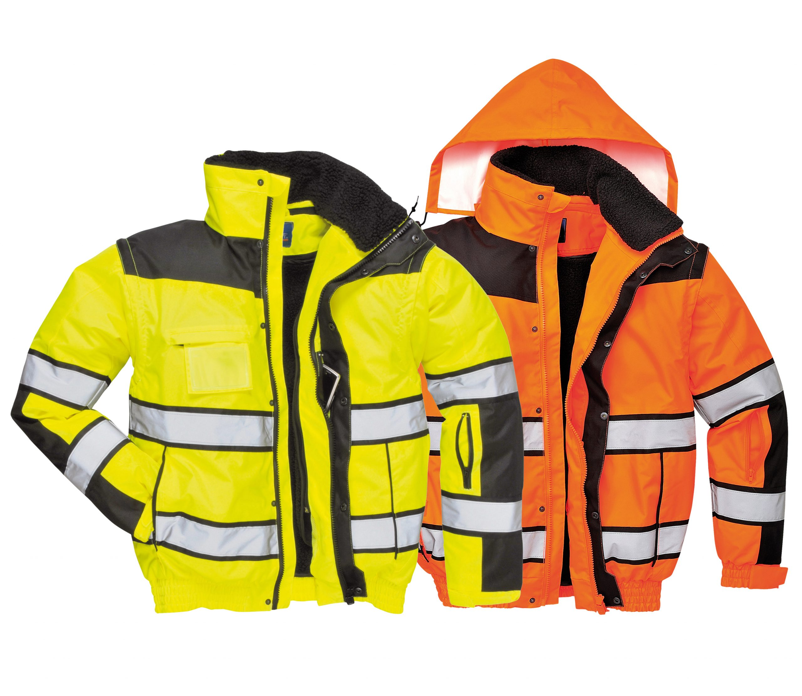 Portwest Mens Classic Rain Jacket 4XL Chest 56-58in Yellow